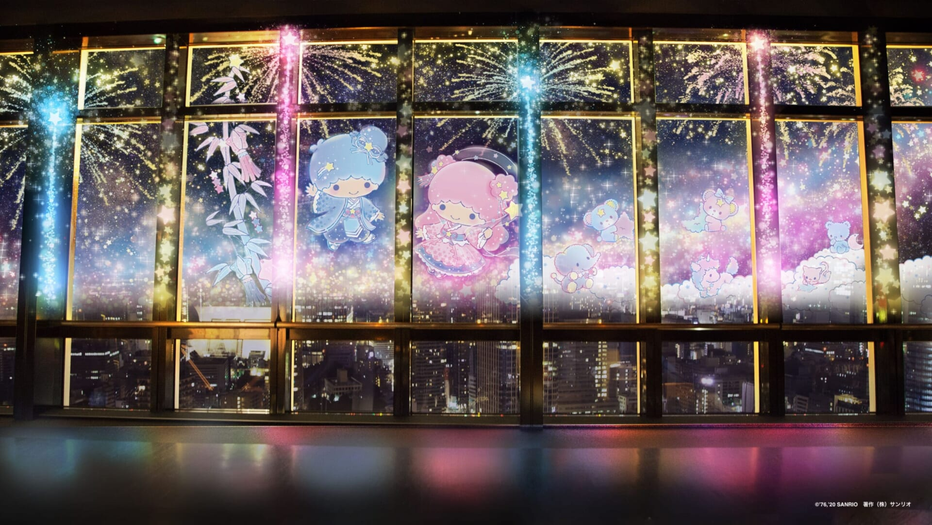 TOKYO TOWER CITY LIGHT FANTASIA - Twinkle color miracle☆-